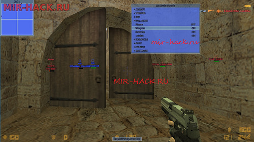 Чит для CS 1.6 TrigerrBot, AimBot, Esp, Color бесплатно